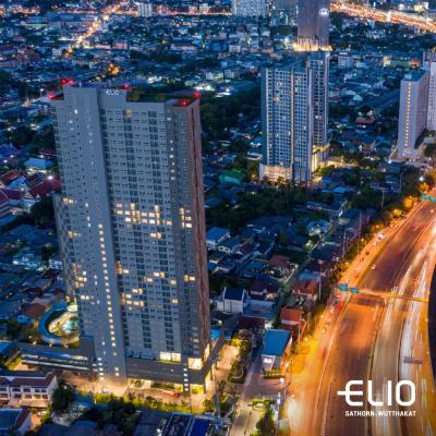 ขายคอนโดท่าพระ ตลาดพลู : ลดเกือบล้าน Elio Sathorn-Wutthakat แต่งครบ พร้อมอยู่ เริ่มเพียง 1.99 ลบ. ฟรีค่าใช้จ่ายวันโอน