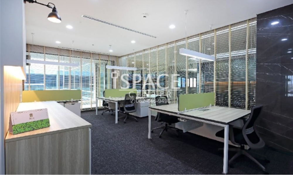 For RentOfficeRatchathewi,Phayathai : Serviced Office for rent near MRT Phetchaburi, very convenient to travel. Bring the notebook to work. No need to decorate the office by yourself, the office is very beautiful.