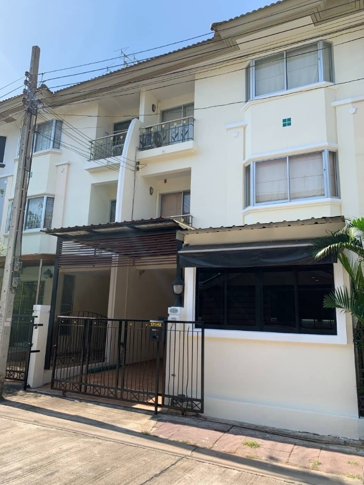 For SaleTownhouseYothinpattana,CDC : 3-storey townhome for sale, Supalai Ville Ekamai-Ramintra, next to Ram Inthra Expressway, Soi Nuanchan 64 (or Ram Inthra 40, intersection 8), completely renovated.