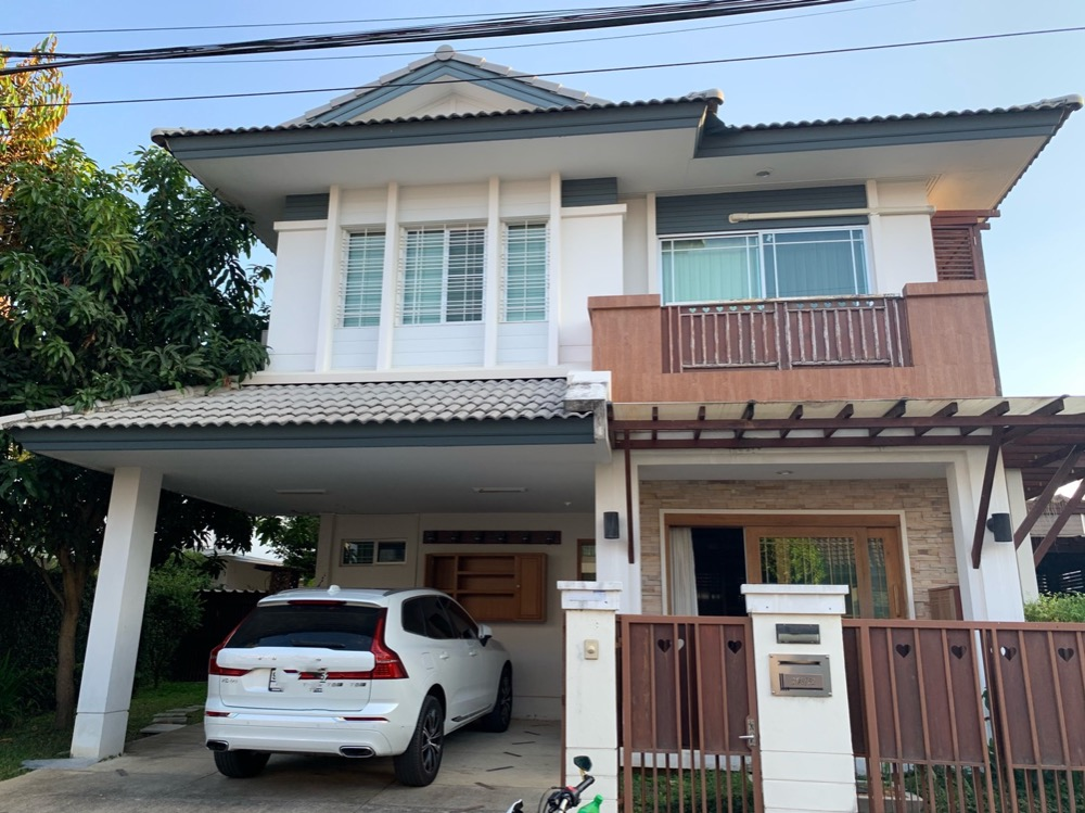 For SaleHouseChiang Mai, Chiang Rai : Single house Siwalee Ratchapruek Chiang Mai 3 bedrooms 3 bathrooms 2 car parks