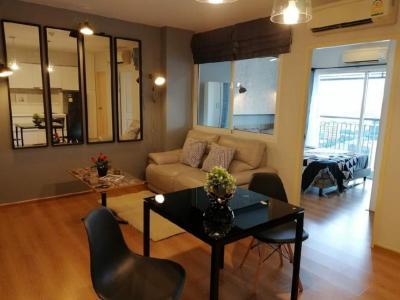 For SaleCondoLadprao, Central Ladprao : Sale with tenants 🏢 Condo Sim Vibha - Ladprao, 25th floor [1 bedroom, 1 bathroom] Beautifully decorated, tight furniture, full appliances.