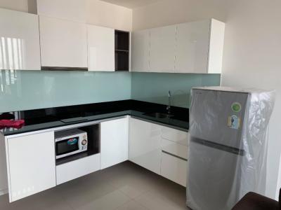 For RentCondoRatchadapisek, Huaikwang, Suttisan : For rent, Quinn Condo Ratchada 17, size 45 sqm, price of Covid