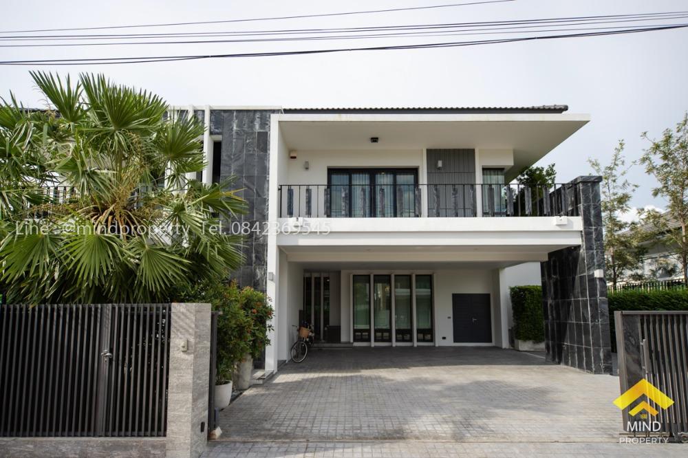 ขายบ้านรังสิต ธรรมศาสตร์ ปทุม : ขายขาดทุนบ้านเดี่ยว หมู่บ้าน Nc On Green Charm ลำลูกกา คลอง 4 บ้านสวยสไตล์ Luxury ย่านรังสิต ปทุมธานี