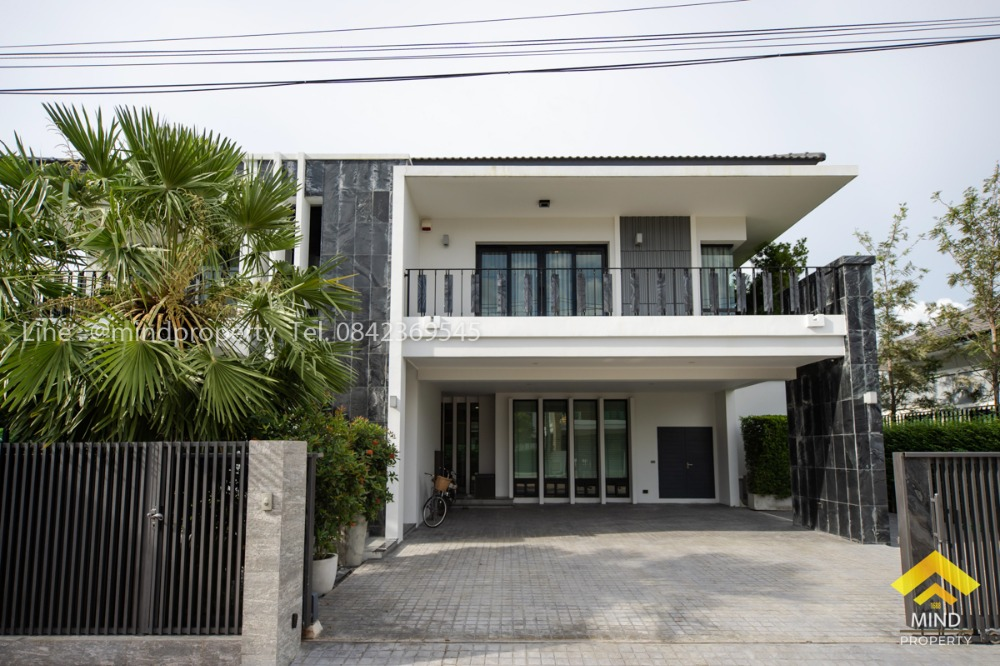For SaleHouseRangsit, Patumtani : Loss sale, single house, Nc On Green Charm village, Lam Luk Ka Klong 4, beautiful house, luxury style, Rangsit district, Pathum Thani