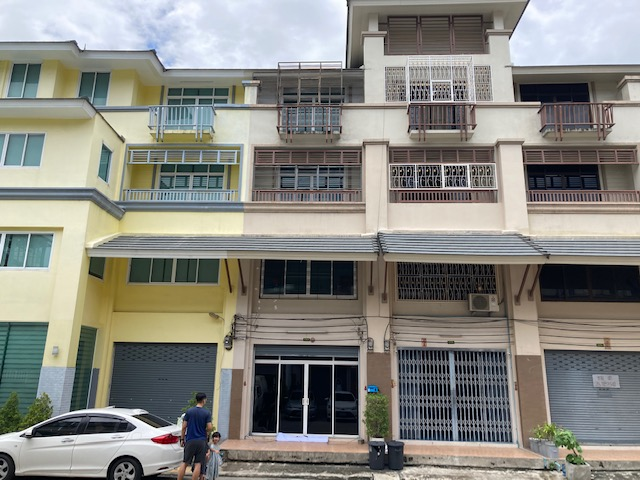 For SaleShophouseRama 2, Bang Khun Thian : 4-storey commercial building for sale, decorated with tenants