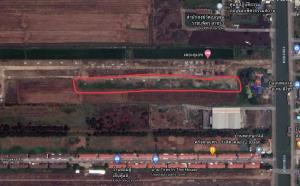 For SaleLandRangsit, Patumtani : Land for sale of six rai, Khlong Song Rangsit, suitable for housing allotment, apartment building, building
