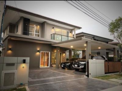 For SaleHouseRama5, Ratchapruek, Bangkruai : Urgent sale, single house, Casa Legend Ratchapruek Rama 5, large house, near new expressway, Ratchapruek Road, Rama 5 roundabout, The walk