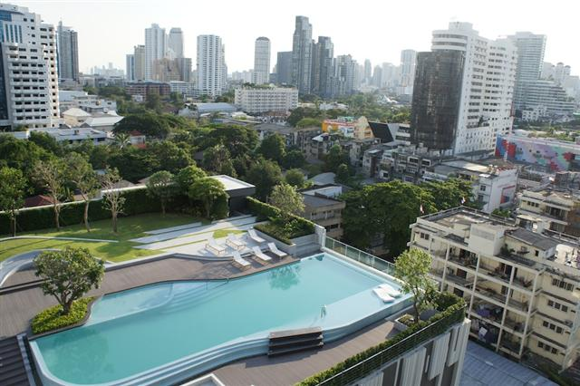 For SaleCondoSukhumvit, Asoke, Thonglor : If investment cannot overlook this building, 3.4 million baht, 1 bedroom, 35 sq.m., falls, 96K sqm.
