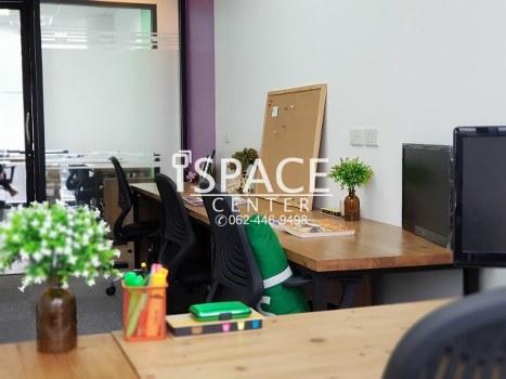 เช่าสำนักงานพุทธมณฑล ศาลายา : ให้เช่า Service Office @ BTS อโศก และ MRT สุขุมวิท เพียง 200 เมตร ++ ห้องสวยพร้อมหิ้วโน้ตบุ๊ค เข้าทำงานได้ทันที++