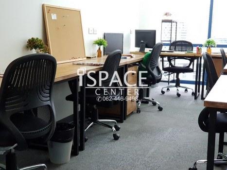 For RentOfficeSukhumvit, Asoke, Thonglor : For rent Service Office @ BTS Asoke and MRT Sukhumvit only 200 meters ++ beautiful room.