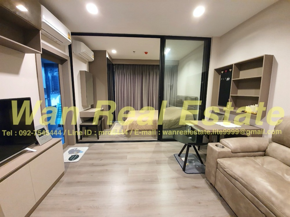 For RentCondoRattanathibet, Sanambinna : Condo for rent, politan rive, riverside, Chao Phraya River, high floor, beautiful decoration, river view, beautiful decoration.