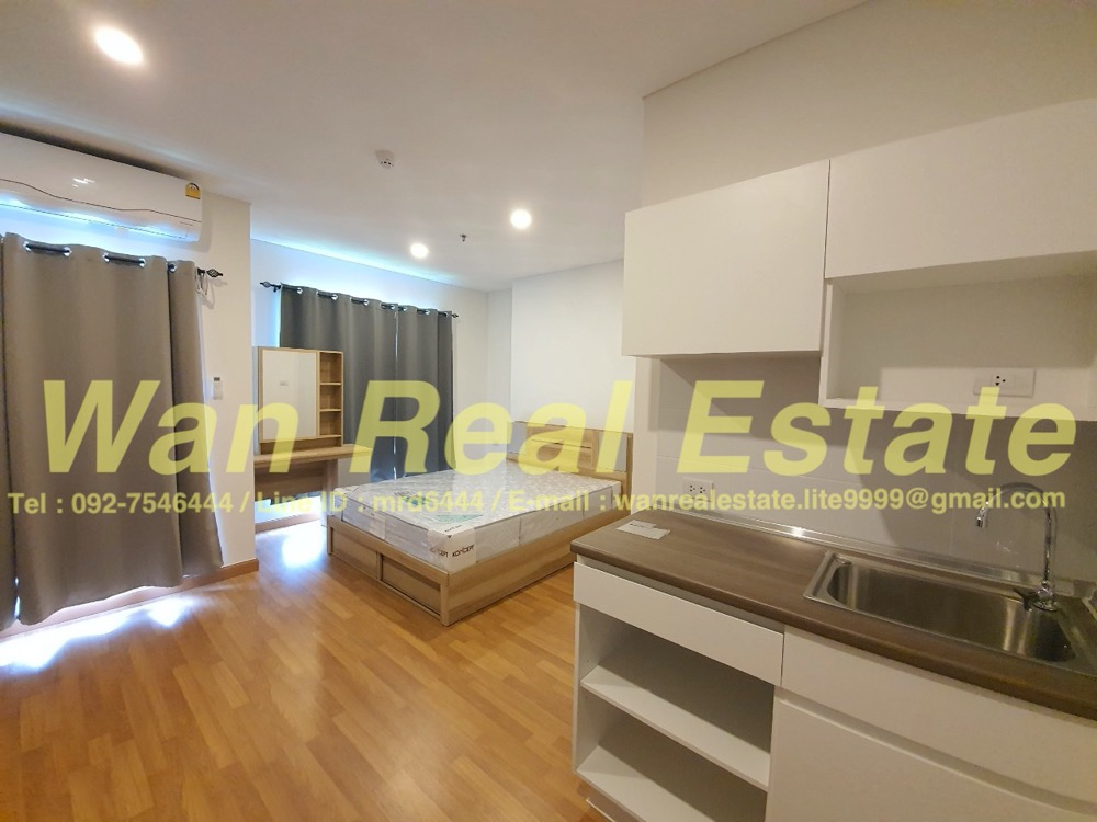 For RentCondoRama3 (Riverside),Satupadit : Condo for rent: Lumpini Place Rama 3-Riverine, 8th floor, size 25 sq.m.