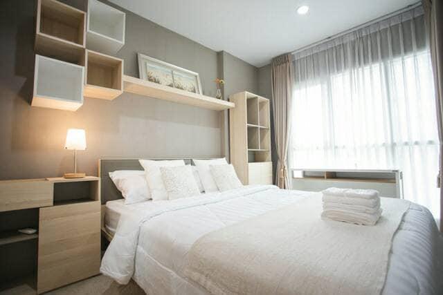 For RentCondoRama9, RCA, Petchaburi : For rent, Aspire Rama 9, ASPIRE RAMA 9, size 32 square meters, Building A, 5th floor.