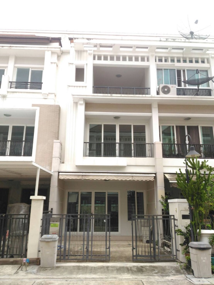 For SaleTownhouseRama3 (Riverside),Satupadit : House for sale in the middle of Sathorn Charoenrat.