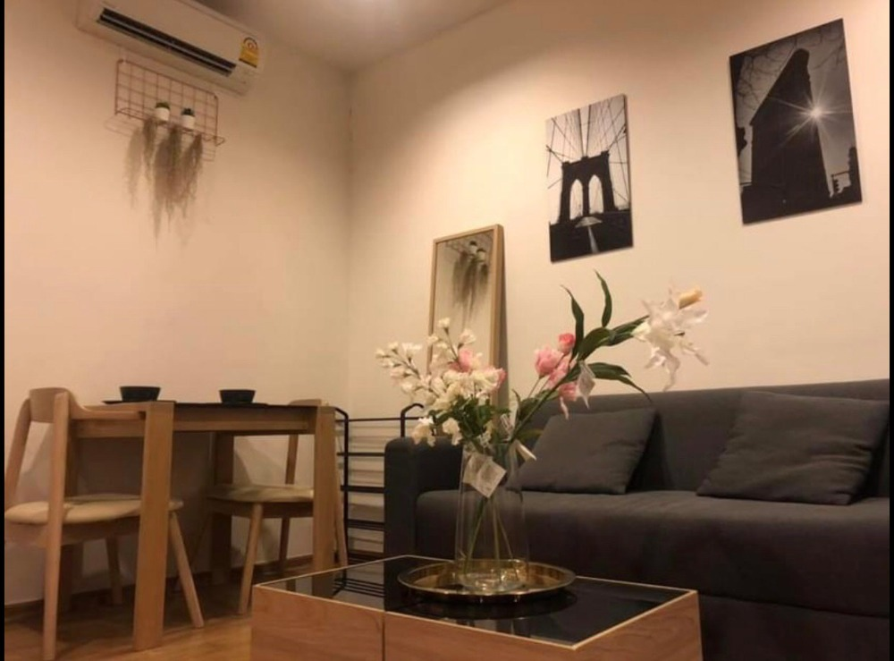 For SaleCondoOnnut, Udomsuk : +++ - Urgent sale +++ Beautiful room, Hasu Haus Condo, Sukhumvit 77 from Sansiri, 1 bedroom 37 sq m, fully furnished, ready to move in !!