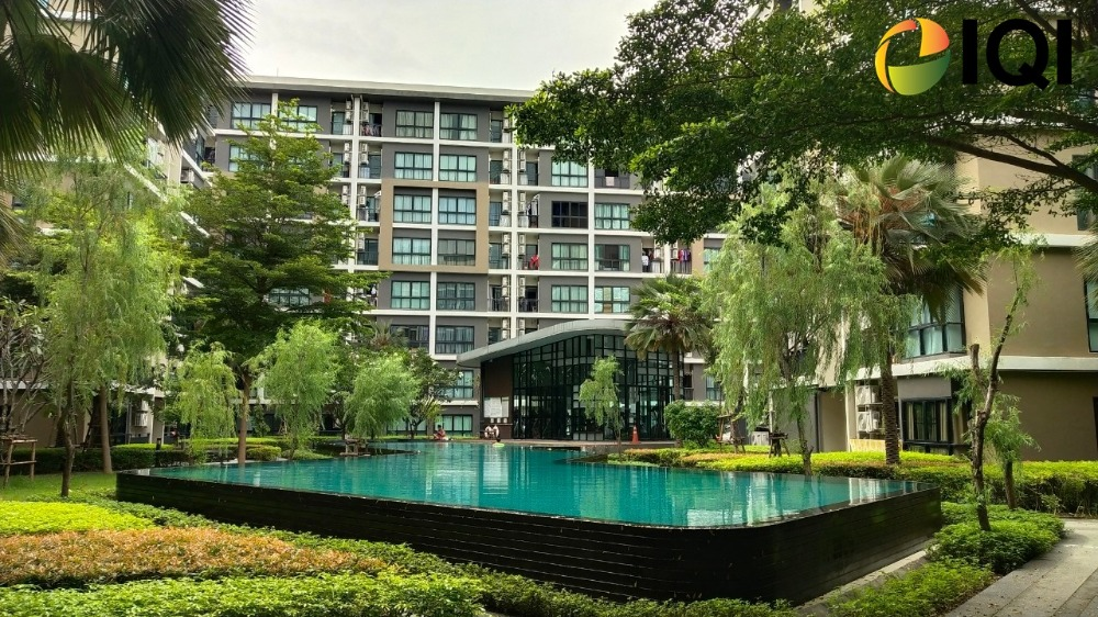 For RentCondoChengwatana, Muangthong : Condo for rent Hallmark Ngamwongwan (Hall Mark Ngamwongwan) Ngamwongwan Road, near MRT Tiwanon intersection, Ngamwongwan expressway