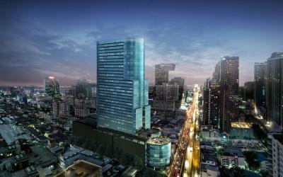 For RentOfficeRama9, RCA, Petchaburi : Office & Retail for rent, new building, CAS Center (Cass Center), Rama 9