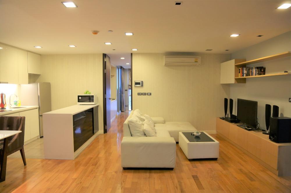 For RentCondoSilom, Saladaeng, Bangrak : Condo for rent Quad Silom Price 31,000 Baht Size 60 Sqm.Floor 2 Bedroom 1