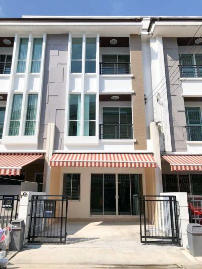 ขายทาวน์เฮ้าส์/ทาวน์โฮมท่าพระ ตลาดพลู : ขายทาวน์โฮม 3 ชั้น บ้านกลางเมือง สาทร-ตากสิน 2 ใกล้ BTS วุฒากาศ