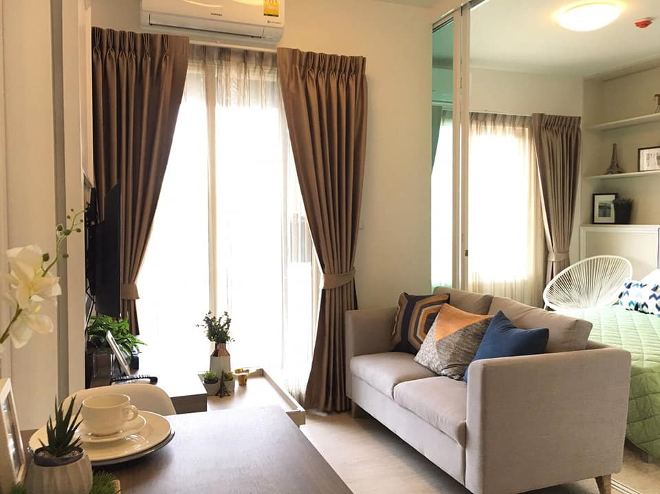 For SaleCondoRatchadapisek, Huaikwang, Suttisan : M2901-Condo for sale and rent, Chapter One Eco Ratchada-Huay Kwang. Near MRT Huai Khwang, ready to move in