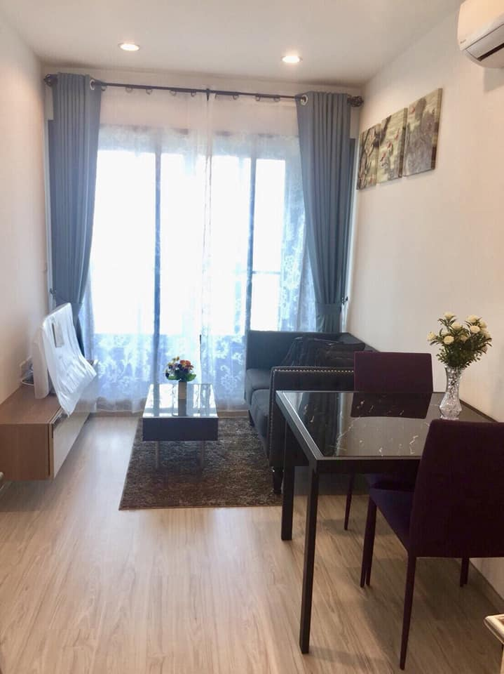 For RentCondoBangna, Lasalle, Bearing : 🔥🔥 For rent Ideo Mobi Sukhumvit Eastgate 1 bedroom 30.39 square meters 🔥🔥