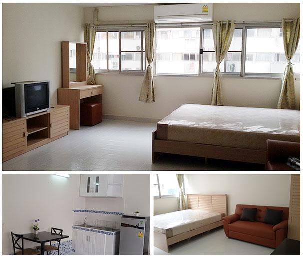 For RentCondoChengwatana, Muangthong : Condo for rent, Muang Thong Thani, Building C6, 8th floor, room size 28 sqm.