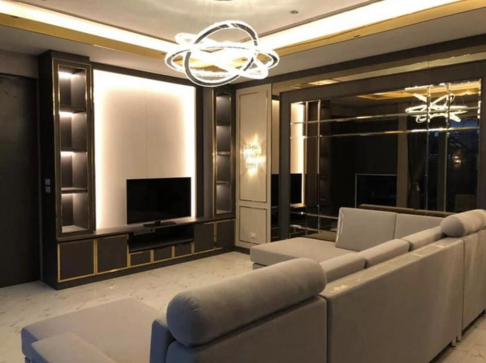 For RentHousePattanakan, Srinakarin : House for rent  100 square wa, Soi Pattanakarn 65 (can raise animals), usable area 265 sq m.  Stylish luxury decoration, 3 bedrooms, 2 bathrooms, big furniture with 50,000 / month