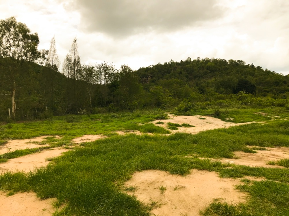For SaleLandCha am, Hua Hin : Land for sale in Hua Hin, next to Stone Mountain - Iron - Fire, 24 rai with chapter 5, 4 rai and view point