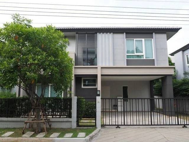 For SaleHouseOnnut, Udomsuk : AE0351 2 storey detached house for sale, Centro Srinakarin - Bangna, r, 52 sq m, 3 bedrooms, 3 bathrooms, prime location