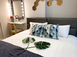 เช่าคอนโดพระราม 9 เพชรบุรีตัดใหม่ : For Rent Lumpini Suite Petchburi-Makkasan ห้องใหม่!!!@24Agency แถมฟรีบัตร BTS/MRT