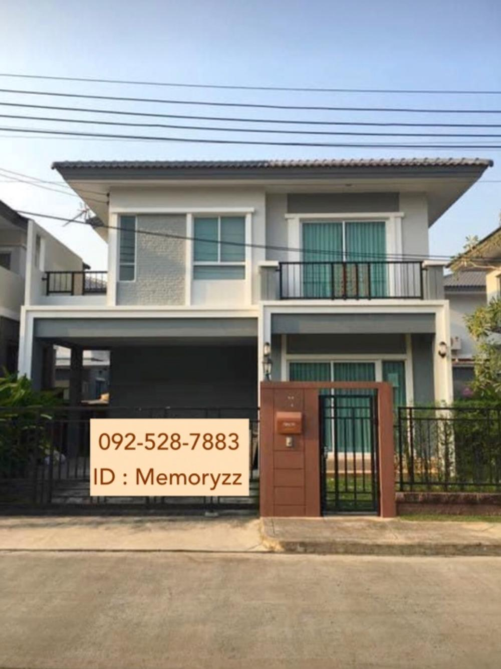 For RentHousePattanakan, Srinakarin : Single house for rent, ready to move in, Passorn Thief Phatthanakan 38 has 3 bedrooms, 2 bathrooms, 38 square wa. 45,000 / month.