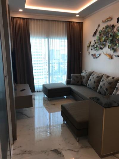 For RentCondoSilom, Saladaeng, Bangrak : 🎉 Very good price for rent, 1 bedroom, 60 sqm., Beautiful room