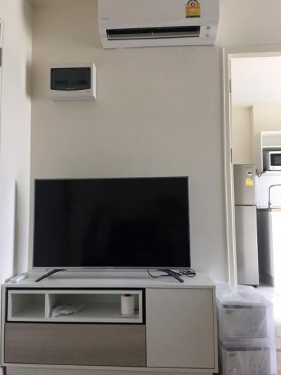 For RentCondoLadkrabang, Suwannaphum Airport : iCONDO Green Space sukhumvit 77 for rent