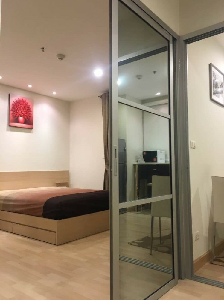 For RentCondoRatchadapisek, Huaikwang, Suttisan : 🔥Hot Deal !!! 🔥 Rhythm Ratchada for rent, beautiful room, fully furnished, ready to move in.
