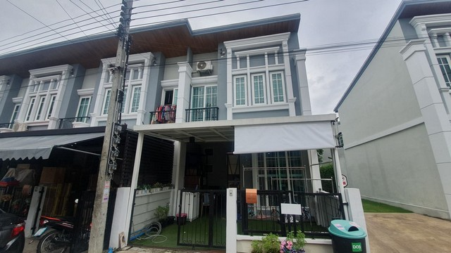For SaleTownhouseOnnut, Udomsuk : AE0358 2 storey townhome for sale, Golden Town 3, Bangna-Suan Luang, 3 bedrooms, 2 bathrooms, complete with furniture and electrical appliances.
