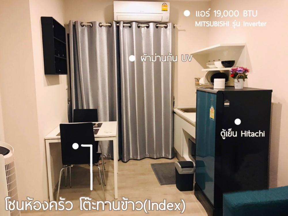For RentCondoRattanathibet, Sanambinna : For rent, Plum Condo Central Station 6,500 / month