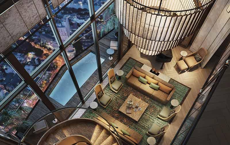 For SaleCondoWongwianyai, Charoennakor : Duplex Penthouse for Sale 709.42 sq.m. The Residences at Mandarin Oriental, Bangkok
