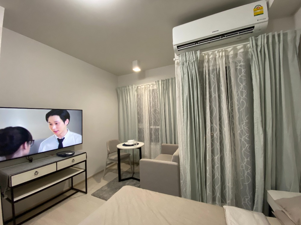 For RentCondoBang Sue, Wong Sawang : For rent, chapter one shine bangpo, studio room, full furniture. All electrical appliances are ready.