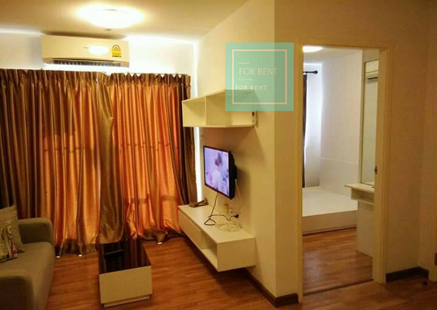 เช่าคอนโดแจ้งวัฒนะ เมืองทอง : ให้เช่าห้องกว้าง ห้องใหม่ มีห้องนอนกั้นแยก ชั้น 8 วิวสระว่ายน้ำ 7500บาท/เดือน