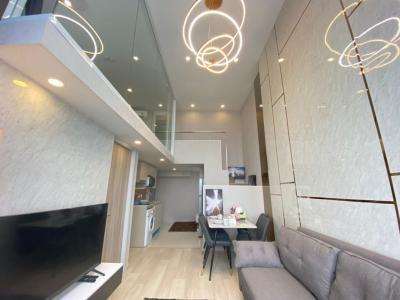 For RentCondoSathorn, Narathiwat : ✅ For Rent ** KnightsBridge Prime Sathorn, 2 Duplex, beautiful decoration, great view **