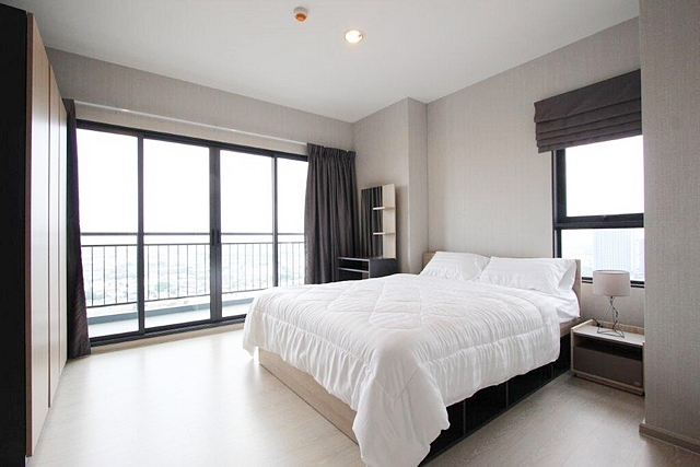 For RentCondoSamrong, Samut Prakan : Condo for rent, Ideo Sukhumvit 115, near BTS Pu Chao Saming Prai, 2 bedrooms, 62 sq m.