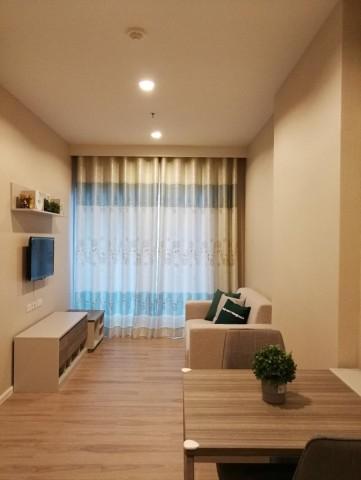 For RentCondoRattanathibet, Sanambinna : code3044 Condo Amber by Eastern Star, usable area: 35 sq m. 19th floor.