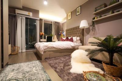 For RentCondoOnnut, Udomsuk : ให้เช่าด่วน ไอดิโอ สุขุมวิท 93 ห้องสตู 8500 บาท มีเครื่องซักผ้า ชั้น 2x  ห้องใหม่ยังไม่เคยเข้าพักอาศัย