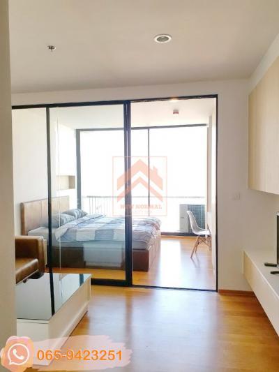 For RentCondoSathorn, Narathiwat : 0005-K🥁🎹 1 bedroom for RENT SELL🚅Near BTS Surasak🏦Noble Revo Silom🗝Area:33.72sq.m.💲Rent:16,000.-bahtบาท💲Sale:5,800,000.-Baht📞065-9423251✅LineID:newnormalrealtybkk