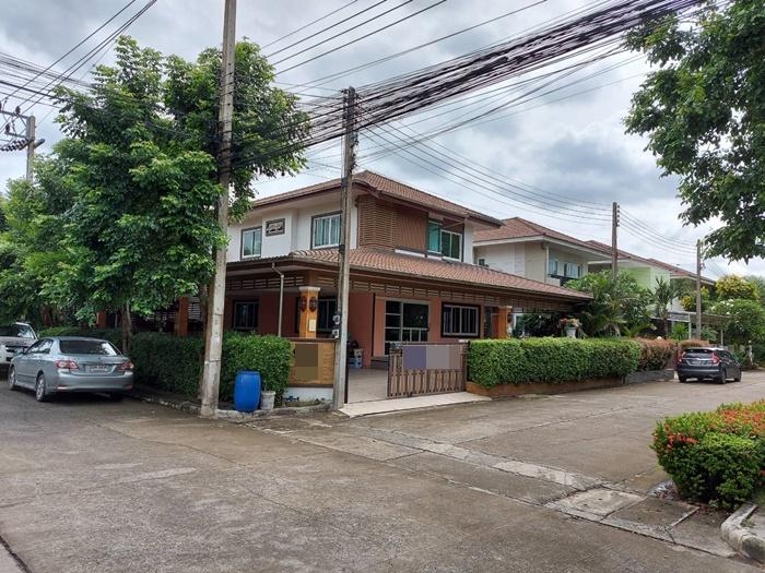 ขายบ้านรังสิต ธรรมศาสตร์ ปทุม : ขาย บ้านเดี่ยว พรพิมาน วิลล์ รังสิต-คลอง 5 หลังมุม บ้านใหม่มือ 1 ไม่เคยเข้าพัก จอดรถในบ้าน 4 คัน