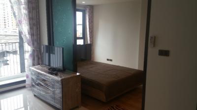 For RentCondoOnnut, Udomsuk : for Rent or Sale  condo HUE Sukhumvit at BTS Punnavithe  , big one bedroom with 40sqm.