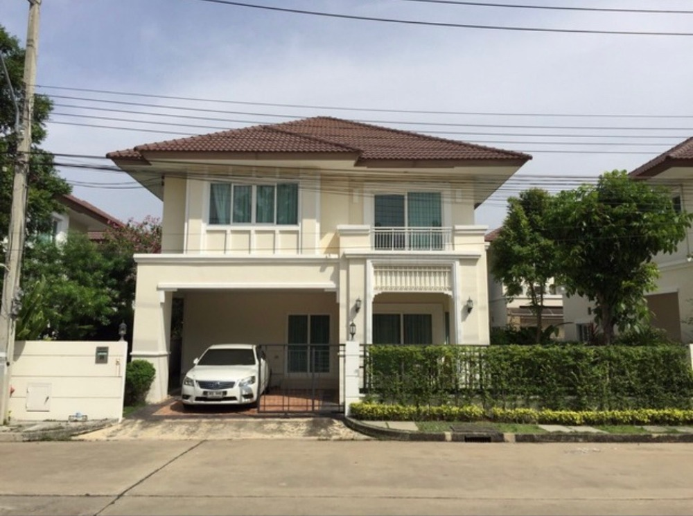For RentHouseRattanathibet, Sanambinna : House for rent in excellent location Luxury furniture, single house, The Centro Rattanathibet, easy to travel in many ways Near the Purple Line, near the expressway and near many important places, very worthwhile, urgently hurry (see details)