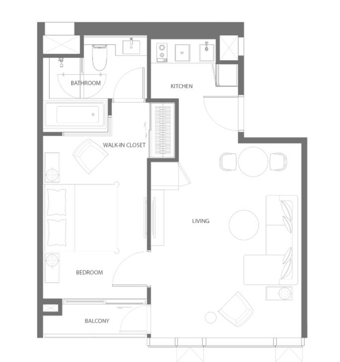 Sale DownCondoSukhumvit, Asoke, Thonglor : 🎉 For sale, down payment, 1 bedroom, 50.60 sqm.