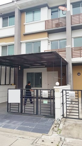 For RentTownhouseOnnut, Udomsuk : Rent 3-storey townhome, fully furnished, Town Plus, On Nut, Airport Link, Lat Krabang