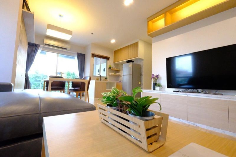 For RentCondoLadprao, Central Ladprao : ✅ For rent, The Room Ratchada - Ladprao, near MRT, size 63 sq m, complete with furniture and electrical appliances ✅